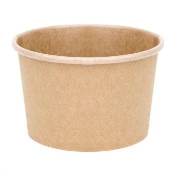 Pots à soupe compostables en PLA Fiesta Green 98 mm - 23 cl (x500)
