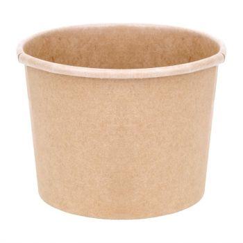 Pots à soupe compostables en PLA Fiesta Green 98 mm - 34 cl (x500)
