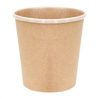 Pots à soupe compostables en PLA Fiesta Green 98 mm - 45;4 cl (x500)