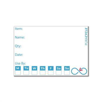 Etiquettes de traçabilité réutilisables Puracycle