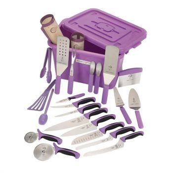 Kit anti allergènes violet Mercer Culinary