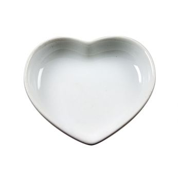 Cosy & Trendy Apero Plat Aperitif Coeur Set 6 Blanc