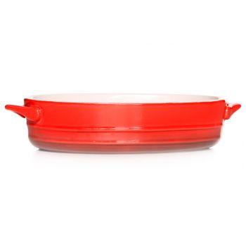 Cosy & Trendy Red Plat A Gratin Ov 21x15,5xh5