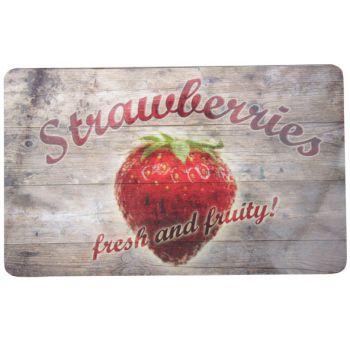 Ricolor Planche Decoup Strawberries 23,5x14,5cm
