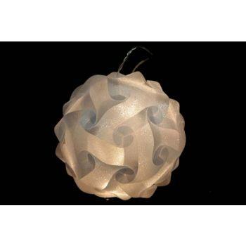 Cosy @ Home Boule Lumine Design 25cm 16l Blanc Chaud