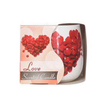 Cosy & Trendy Ct Bougie Parfum Verre Love