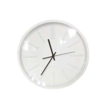 Cosy @ Home Horloge Rond Blanc 35.5x35.5x5cm