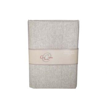 Cosy @ Home Etoffe Deco Cotton Gris Legere 1.5x2m