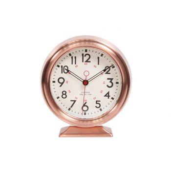 Cosy & Trendy Horloge Modele Table Cuivre 23x21,5xh6,8