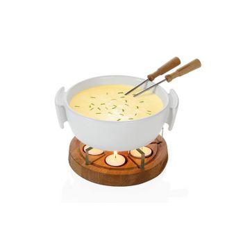 Boska Twinkle Set Fondue Fromage Blanc 1l Rond