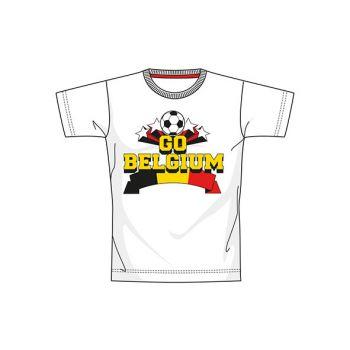 Ek 2021 Euro 16 Belgium S12 T-shirt Blanc Jeune