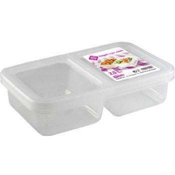 Hega Hogar Nantes Lunchbox 2 Comp 2.5l