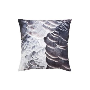 Cosy @ Home Coussin Plumes Brun Gris 45x45cm