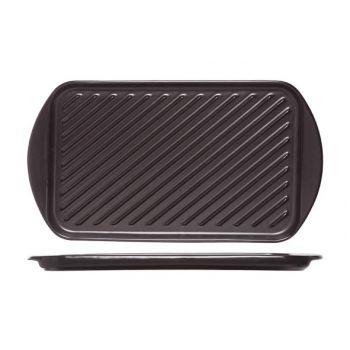Cosy & Trendy Plat A Griller Noir 40.5x22.5xh2.1cm
