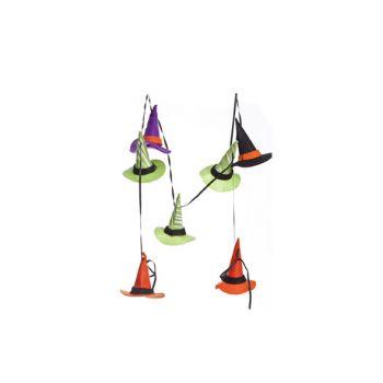 Cosy @ Home Guirlande Chapeaus Sorciere Colore 150cm