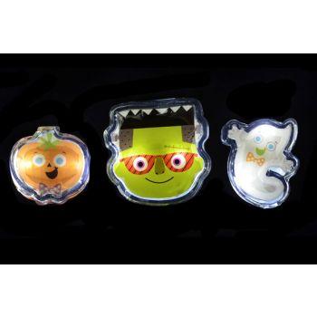 Goodmark Halloween Gel Gadget Avec Led 3 Types Faces