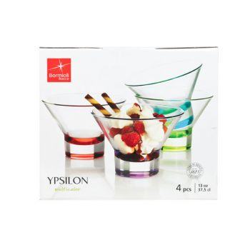 Bormioli Ypsilon Dessert Set 4
