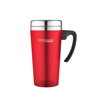 Thermos Soft Touch Travel Mug Rouge 420ml