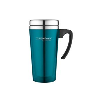 Thermos Soft Touch Travel Mug Turquoise 420ml