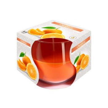 Cosy & Trendy Ct Bougie Parfum Verre Orange-orange