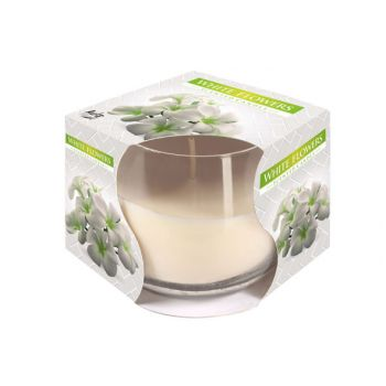 Cosy & Trendy Ct Bougie Parfum Verre White Flowers-bla