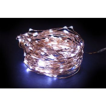 Light Creations Microlight Led 12m 120 Lampes Blanches