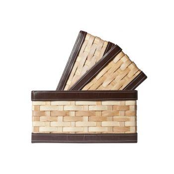 Cosy @ Home Panier  Rectangle Woodchip S3 34x31xh20