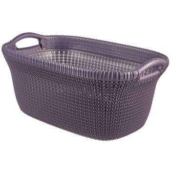 Curver Knit Manne A Linge 40l Twilight Purple