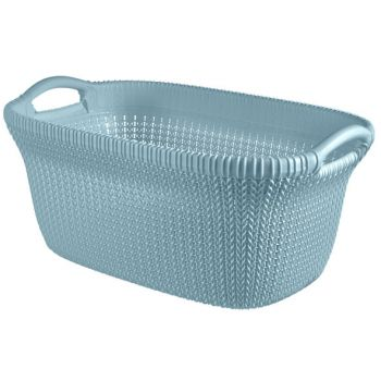 Curver Knit Manne A Linge 40l Misty Blue