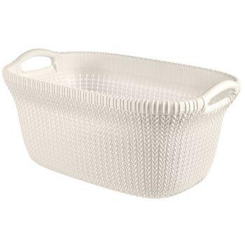 Curver Knit Manne A Linge 40l Oasis White