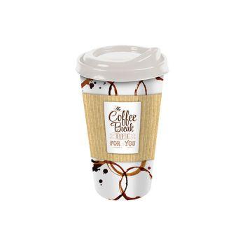 Hega Hogar Gobelet A Cafe Avec Couvercle E46