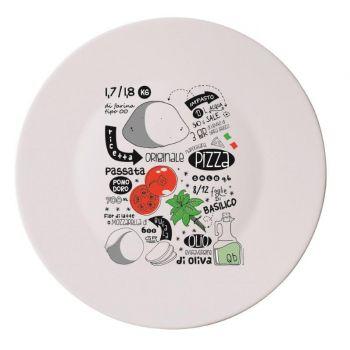 Bormioli Pizza Recipe 33 Cm  Set  4