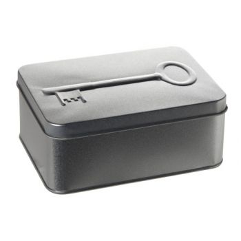Cosy & Trendy Boite 3d Argente Clefs 14.5x10.5xh5.8cm
