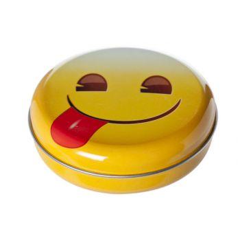 Cosy & Trendy Boite A Bonbons Smileys D12xh3.5cm