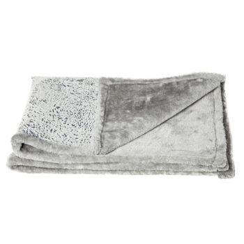 Cosy & Trendy Couverture Medium Gris 88.5x68.5cm