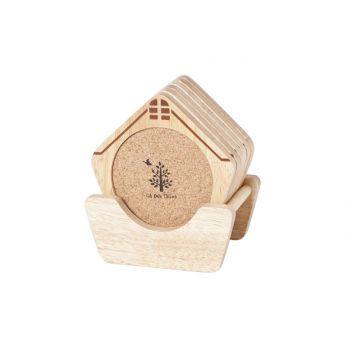 Cosy & Trendy Soustasse Forme Maison Set6 Print-suppor