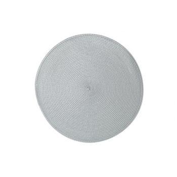 Cosy & Trendy Placemat Rond Gris D36cm