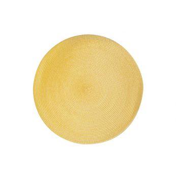 Cosy & Trendy Placemat Rond Orange D36cm
