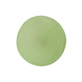 Cosy & Trendy Placemat Rond Vert D36cm