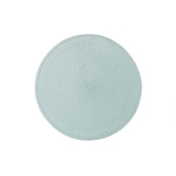 Cosy & Trendy Placemat Rond Cyan D36cm