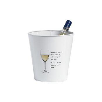 Cosy & Trendy Party Seau A Vin Blanc D21xh21cm
