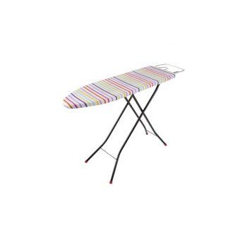 Cosy & Trendy Ct Table A Repasser Metalica Rouge Noir