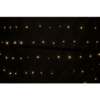 Light Creations Netlight Led 2x2m 144l Blanc Chaud Stead