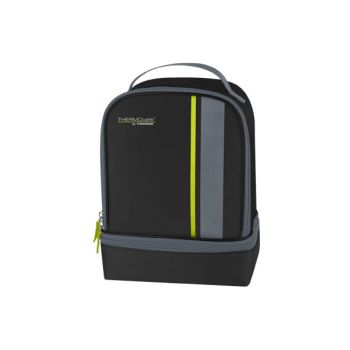 Thermos Neo Dual Compartm Lunchkit Noir-lime