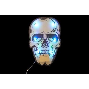 Cosy @ Home Tete De Mort Ilumine A Susp 33x3x50cm