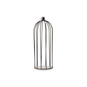 Cosy @ Home Plateau Avec Cage Noir D8 18x18xh50cm