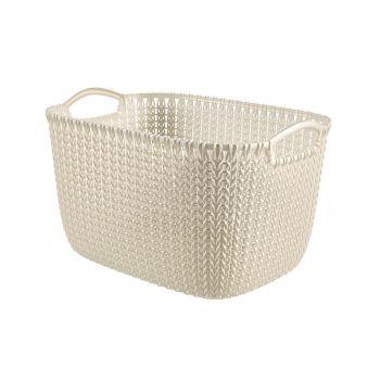 Curver Knit Manne L Re 19l Oasis White