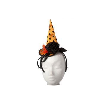 Cosy @ Home Diademe Chapeau Sorciere Orange Noir