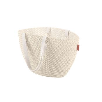 Curver Knit Panier Provisions Emily Oasis White
