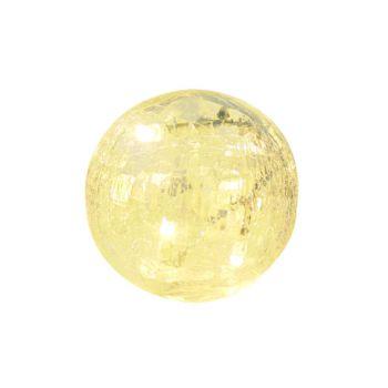 Light Creations Glasslight Ball D12cm 40led Blanc Chaud